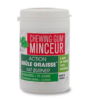 AUTHENTIQUE CHEWING-GUM MINCEUR