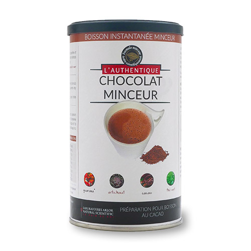 AUTHENTIQUE CHOCOLAT MINCEUR (POT)